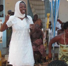 Ghana, West Africa; naming ceremony